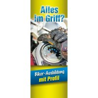 "Banner-Display ""Alles im Griff"""