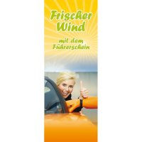 "Banner-Display ""Frischer Wind"""